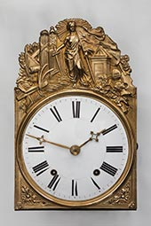 Comtoise-Uhr: Februar-Revolution 1848