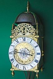 Museale englische Laternenuhr von John Ebsworth