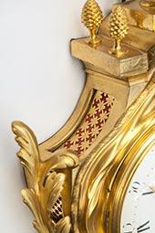 Große museale Carteluhr Louis Seize