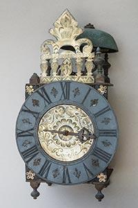 Museale antike franz. Laternenuhr von Rouelle
