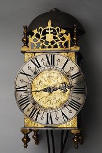 Museale französische Einzeiger-Laternenuhr ca. 1700