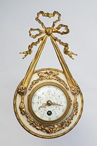 Mini-Carteluhr im Louis XVI-Stil