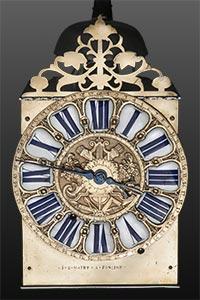 Museale Kartuschen-Comtoise-Uhr von J B MAYET A FONCINE