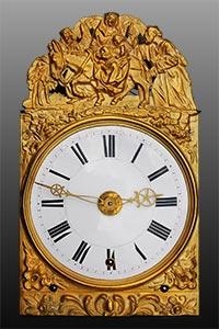 Comtoise-Uhr<br>mit grande sonnerie<br>auf 4 Glocken