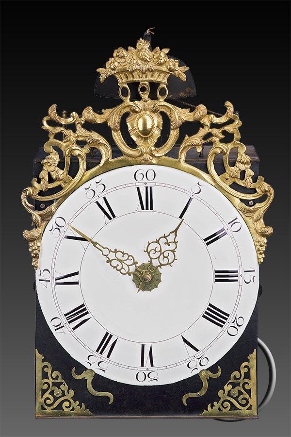 Maxi-Comtoise-Uhr, Monatsläufer