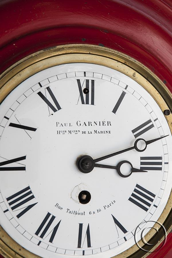 Carteluhr von Paul Garnier
