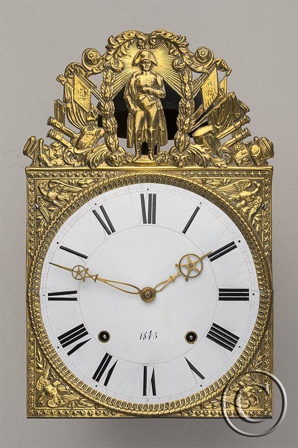 Napoleon mit Adler, seltene Prägung, Jahreszahl 1843