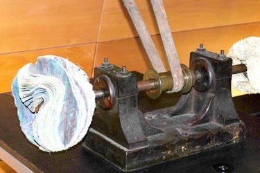 poliermaschine museum morez