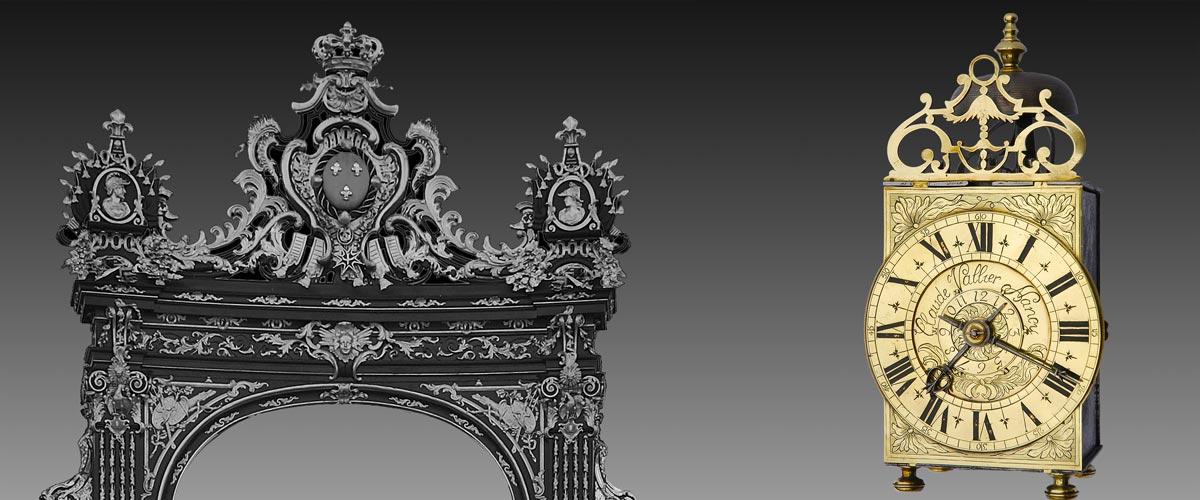 antike französische laternenuhr wecker